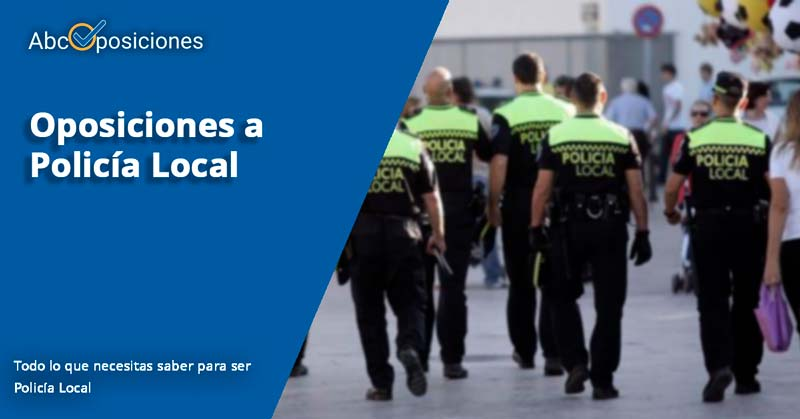 oposiciones policía local