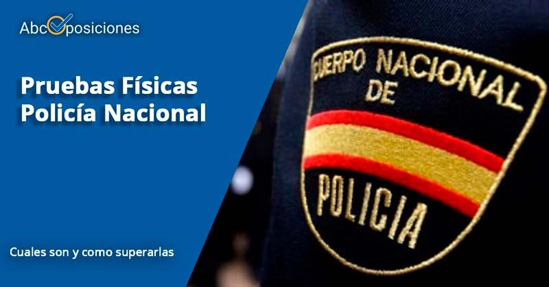 pruebas fisicas Policía Nacional