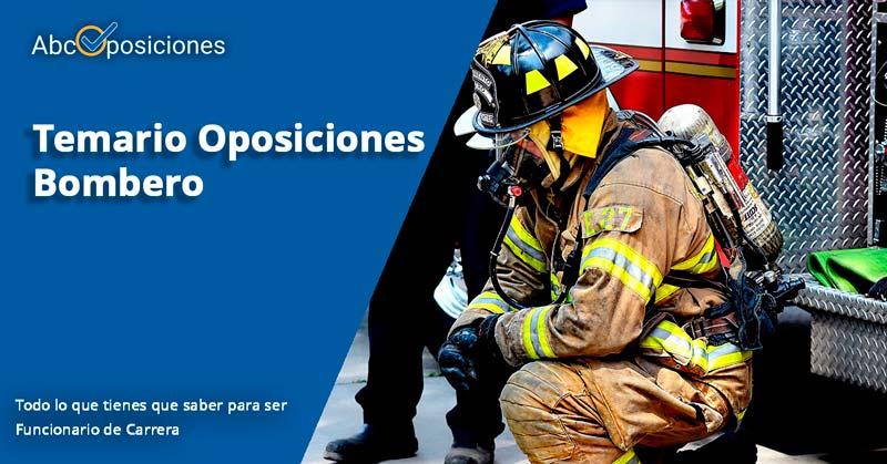 temario bombero