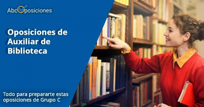 oposiciones Auxiliares de Biblioteca