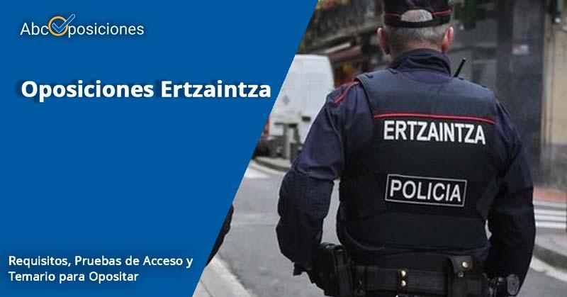 oposiciones a Ertzaina